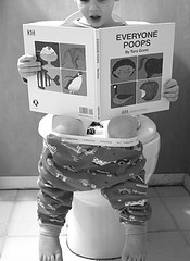 Big Poop in Toilet http://www.allaboutparasites.com/constipation-in-children.html