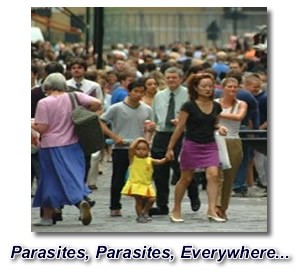 parasite in humans