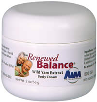 renewed balance natural progesterone cream